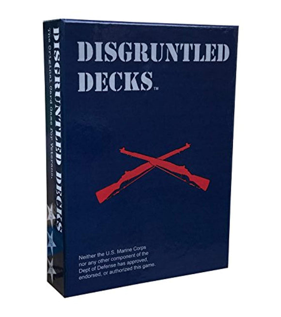 Disgruntled Decks - The Original Military Party Card Game for Veterans