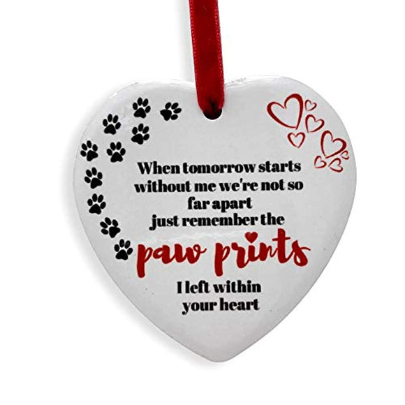BANBERRY DESIGNS Pet Memorial Christmas Ornament