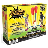 Stomp Rocket Dueling Rockets, 4 Rockets and Rocket Launcher