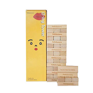 [O-ing Tower] Love & Naughty Stacking Tower Wooden Blocks Funny Couple Game