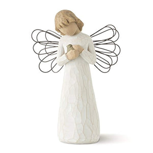 Willow Tree Angel of Healing, sculpted hand-painted figure