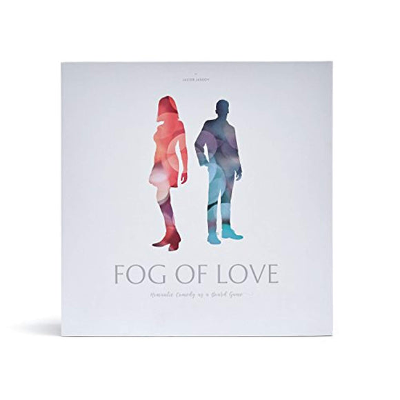 Hush Hush Projects Fog of Love Board Game Male-Female Cover Multicolor