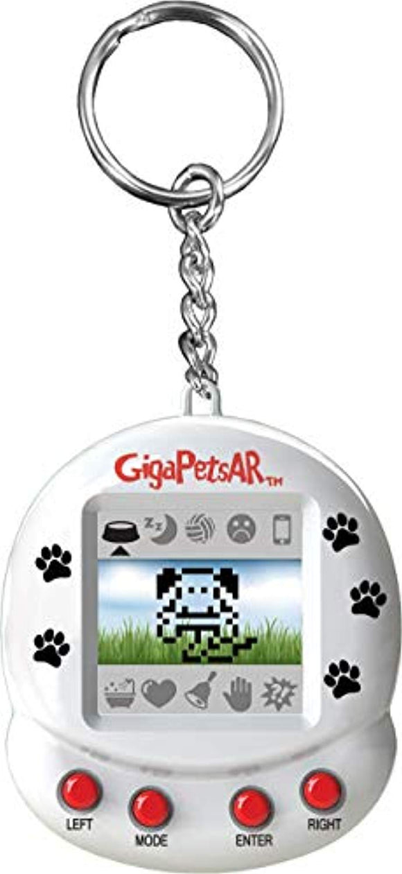 Giga Pets AR Puppy Dog Virtual Pet, White