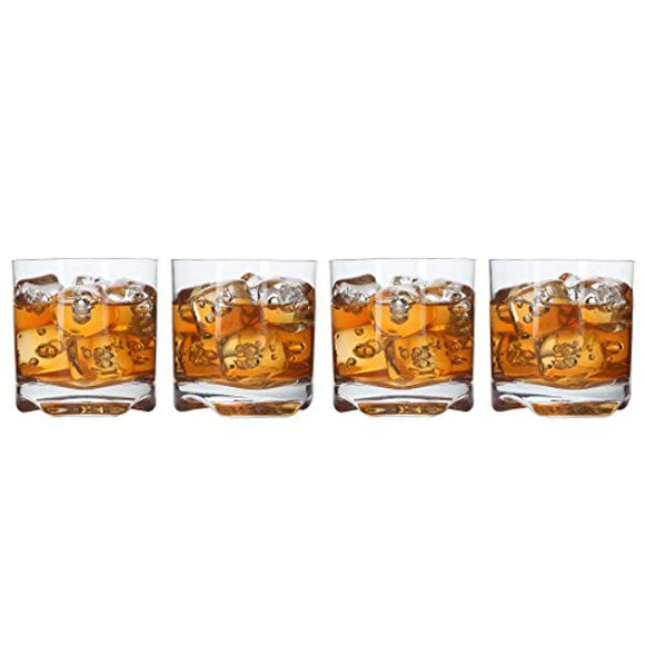 Lily's Home Unbreakable Whisky Scotch Tumbler Glasses, Premium Glasses