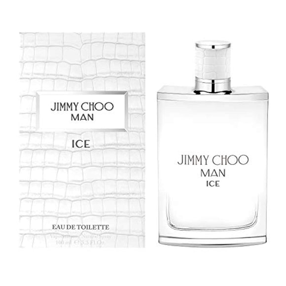JIMMY CHOO Man Ice Eau De Toilette, Citrus Aromatic Woody