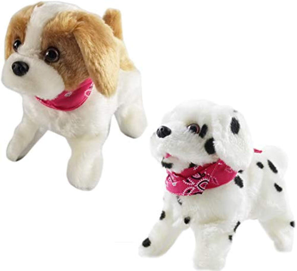 Haktoys 2-Pack Flip Over Puppy