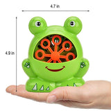 Toytykes Frog Shaped Bubble Machine | Premium Material