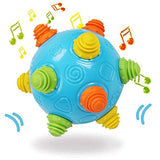 Toddlers Baby Music Shake Dancing Ball Toy, Move and Crawl Ball Toys for Kids