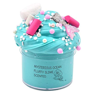 GoodGoodStudy--2019 Newest Mermaid Ocean Mystery Butter Slime, Non-Sticky Floam