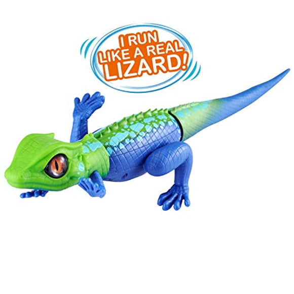ROBO ALIVE Robotic Lizard Toy Pet (Green + Blue) Series 2