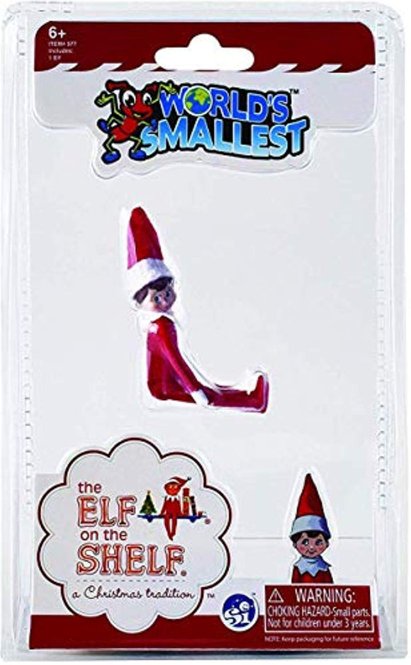 Worlds Smallest The Elf On The Shelf