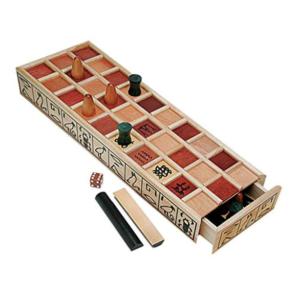 WE Games Wood Senet Game - An Ancient Egyptian Board Game