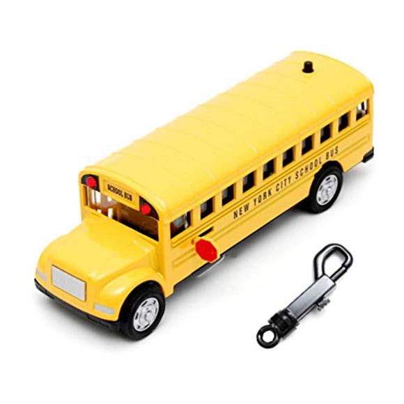 Favorict - Lights and Sounds Die Cast NYC School Bus