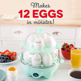 Rapid Egg Cooker: Electric, 12 Capacity for Hard Boiled
