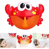 Bubble Maker Bath Toy with Music Sound Shower Bubble Making Machine Battery Operated for Baby
