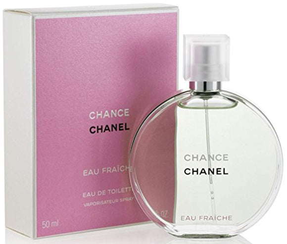 Chancè Chanèl Eau Fraiche Eau De Toilette Spray, for Woman EDT 1.7 fl oz, 50 ml