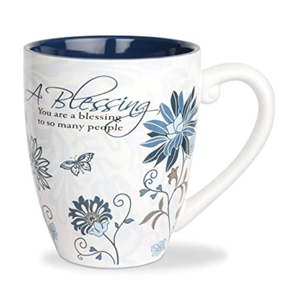 Pavilion Gift Company 66338 Blessing Ceramic Mug, 17-Ounce, Mark My Words