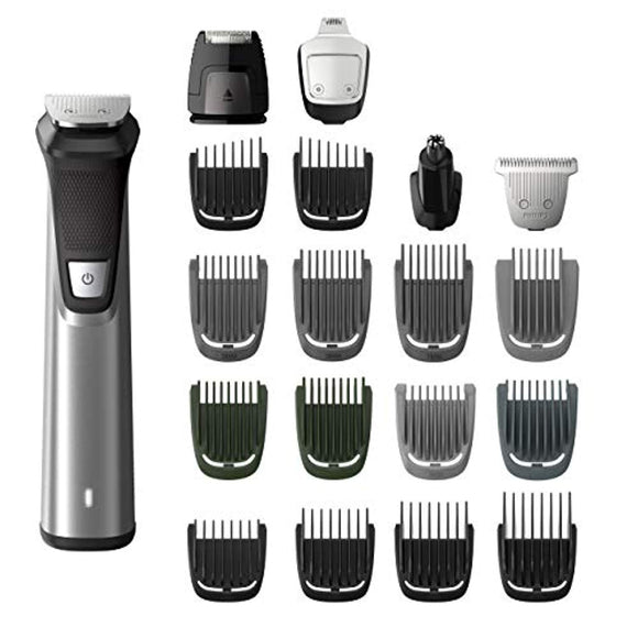 Philips Norelco Multigroom Series 7000, Men's Grooming Kit with Trimmer for Beard