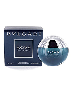 Bvlgari Aqua By Bvlgari For Men. Eau De Toilette Spray 3.4 Ounces