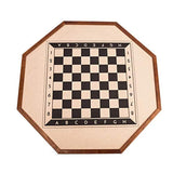 "Gameland 32"" Table Top Crokinole Tournament Board and Checkers Game for Adults and Kids"