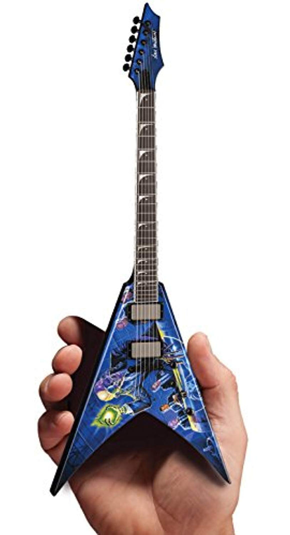 Axe Heaven Megadeth Dave Mustaine Rust In Peace Dean 1/4 Scale Guitar