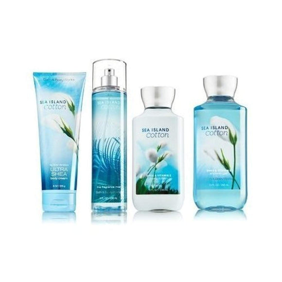 Sea Island Cotton Gift Set Signature Collection - Bath & Body Works