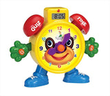 "PowerTRC ""Tell The Time Clock Educational Toy for Kids"