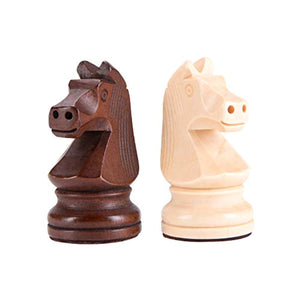 Amerous Wooden Chess Pieces - 3.75inch King Tournament