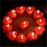 Celestte (TM) Scented Candles, 12 Pcs Sweet Romantic Love Heart Shaped Floating Candle