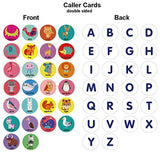 Deeplay Alphabet Bingo Game Card Board Matching Game Set