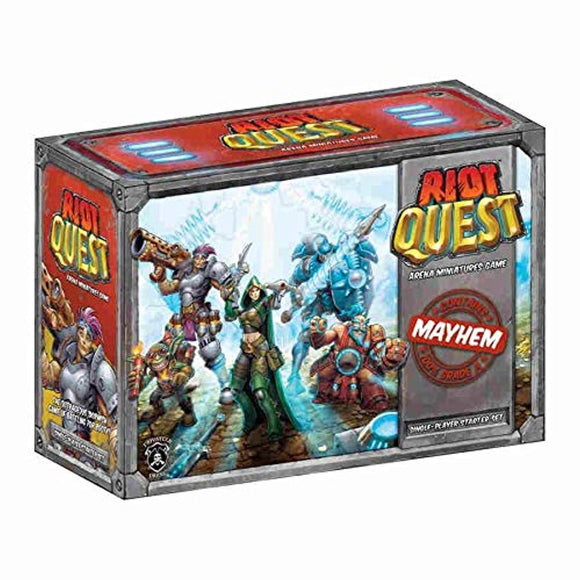 Riot Quest Board Game Starter Box