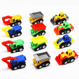 AOSILEY 12 Pack Pull Back Vehicles