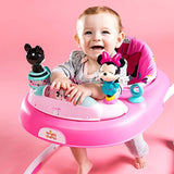 Bright Starts Minnie Mouse Stars & Smiles Walker with Wheels & Activity Center