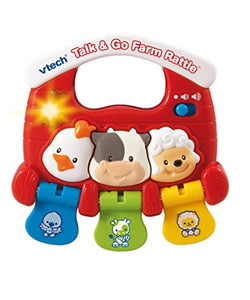 VTech Talk & Go Farm Rattle Red