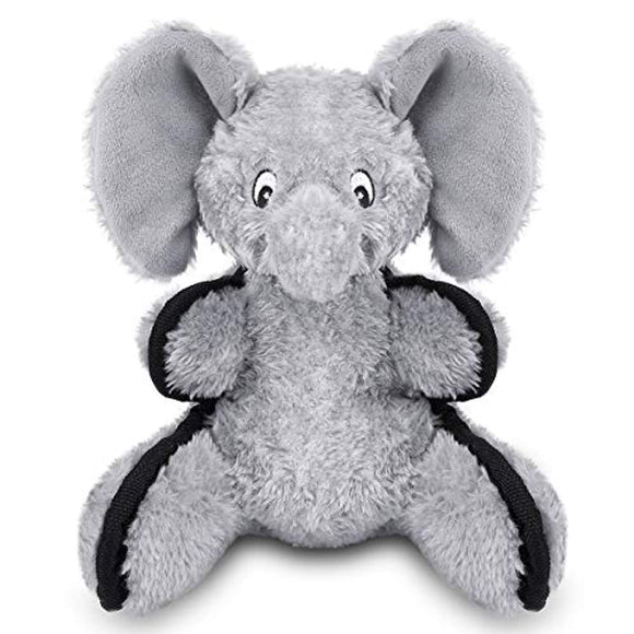 oneisall Plush Stuffed Dog Toys - Interactive Pet Chew Toys for Small Medium Dogs Animal,Elephant