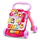 VTech Sit-to-Stand Learning Walker (Frustration Free Packaging), Pink