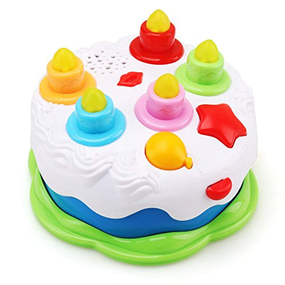 Amy&Benton Kids Birthday Cake Toy for Baby & Toddlers