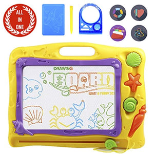 PinSpace Magnetic Drawing Board, 16 Inch Big Size Drawing Sketch Pad