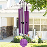 Memorial Wind Chimes Outdoor Large Deep Tone,36''