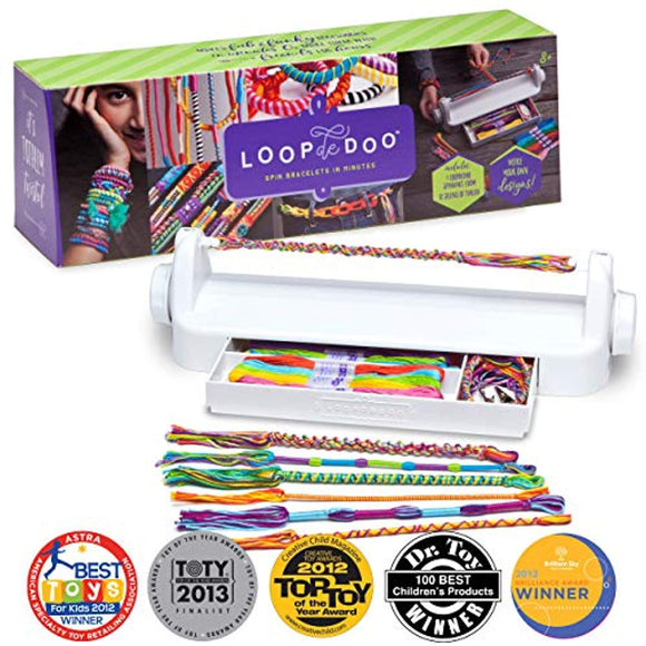 Loopdedoo – DIY Friendship Bracelet Maker Kit