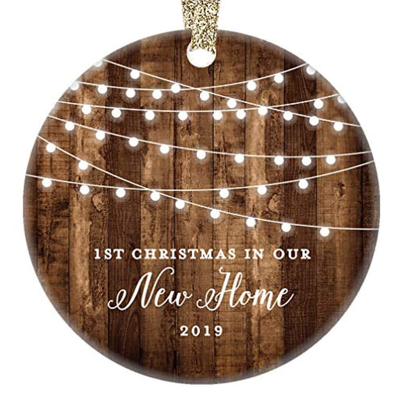 New Home 2019 Ornament Housewarming 1st Christmas In Our New House
