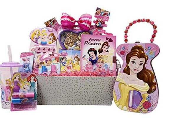 Girls Gift Baskets – Princess Themed Get Well, Birthday Gifts Idea for Girls