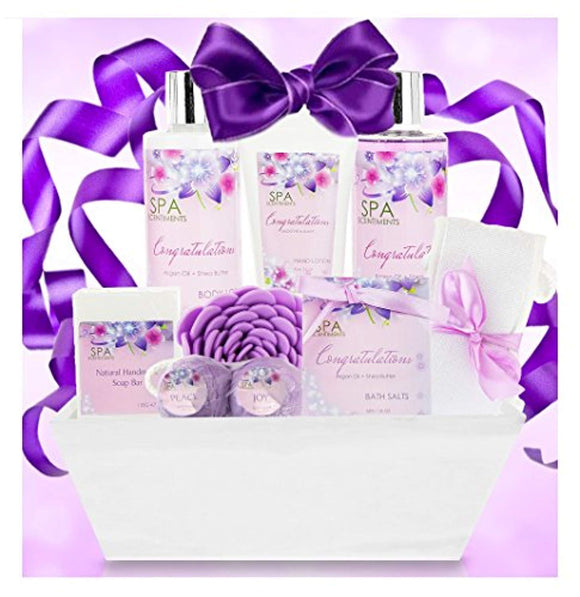 Congratulations Gifts for Women Gift Spa Gift Basket