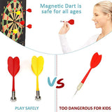 Mixi Magnetic Dart Board for Kids,