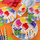 130 Piece Birthday Party Supplies - Serves 16