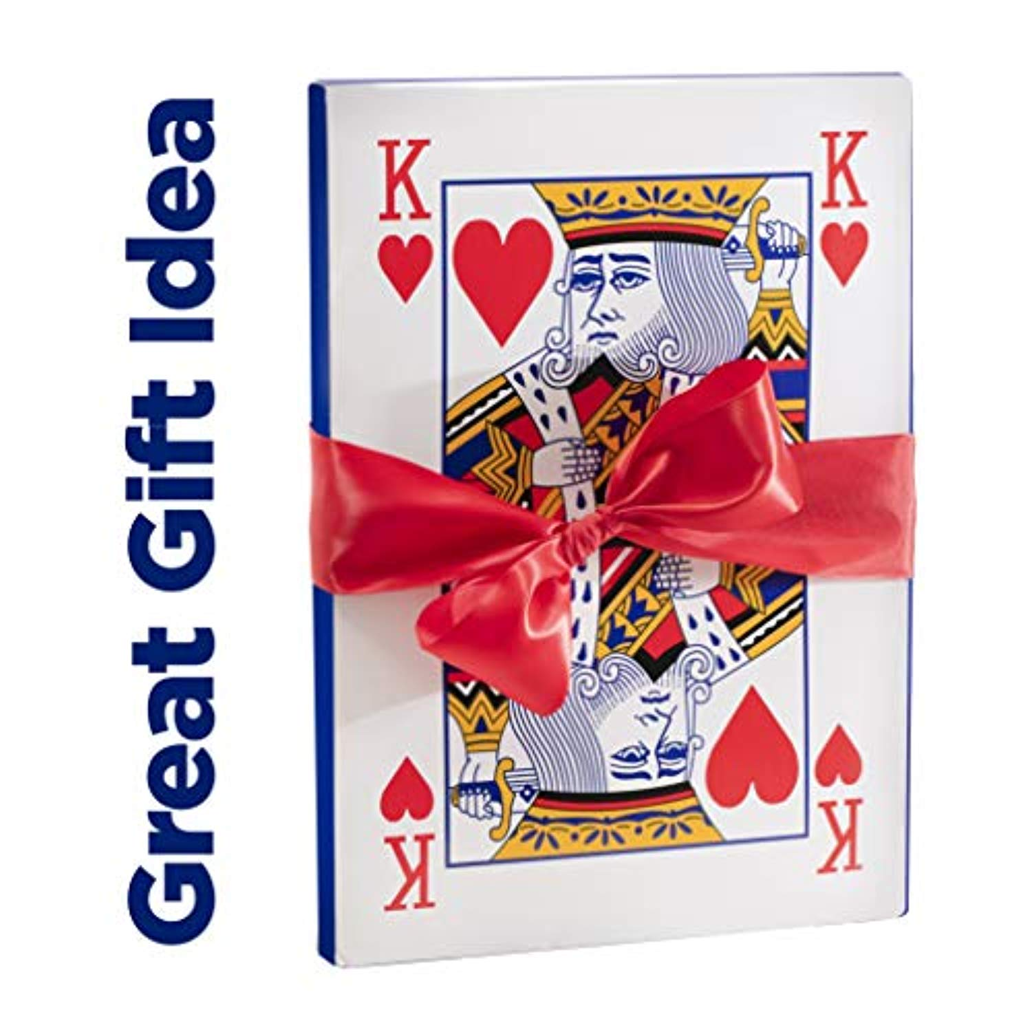 Jumbo Playing Cards Full Deck Huge Poker Index Playing Cards Fun for All Ages!