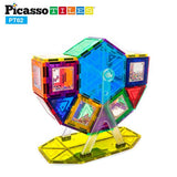 PicassoTiles PT62 Kids Toy Building Block Ferris Wheel Set LED Light