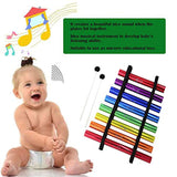 Agirlgle Xylophone for Kids Musical Toy Baby Musical Instruments for Toddllers