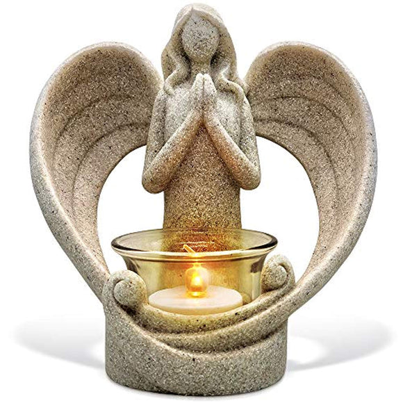OakiWay Memorial Gifts – Tealight Candle Holder Sympathy Gift