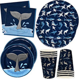 Gift Boutique Shark Birthday Party Supplies Set